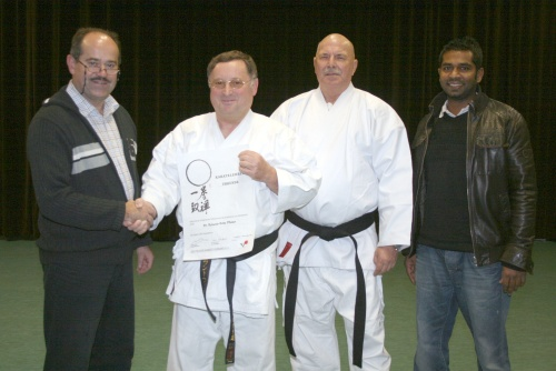 Starkes Trainerteam Karate im TSV Scherneck