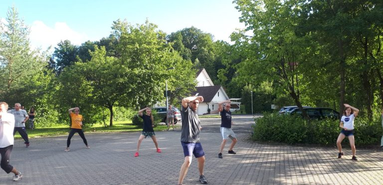 Freilufttraining - Impressionen eines Trainingstages